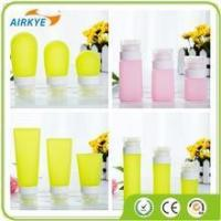 Buy cheap Personal Care Silicone Shampoo Liquid Dispenser Bottle Great Travel Accessory from wholesalers