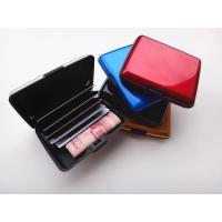 Buy cheap RFID Security Square Aluminum Wallet/Credit Card&Cash Holder from wholesalers