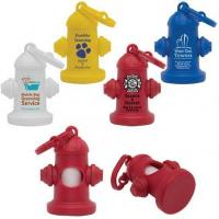 Buy cheap Dog products YK-WBH005 Fire Hydrant Pet Waste Bag Dispenser from wholesalers