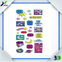 Buy cheap lovely kids planet puffy plastic sticker from wholesalers