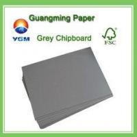 Buy cheap Both Side Grey Chipboard Paper Laminated Chipboard Sheets Folding Resistance from wholesalers