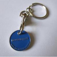 Buy cheap Copper Medal Promotional Zinc Alloy Trolley Coin Keyring & Keychain from wholesalers