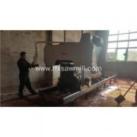 Buy cheap Electric power horizontal bandsaw mill machinery from wholesalers