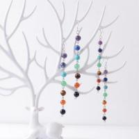 Buy cheap 8MM/6MM Stone Beads 7 Chakra Earring Healing product