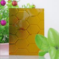 Buy cheap 3mm to 8mm Color Patterned Glass Tinted Glass Figured Glass Float Glass from wholesalers