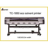 Buy cheap ECO Solvent Printer TC-1850High Quality Single DX5 Head Used ECO Solvent Ink Printers from wholesalers