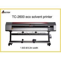 Buy cheap ECO Solvent Printer TC-2600 2.5m PVC Flex Banner And Vinyl Printing Machine With DX7 Head from wholesalers