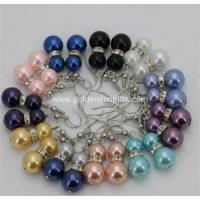 Buy cheap Colorful Sea Shell Pearl Eardrop Earrings Beads Jewelry from wholesalers