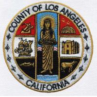 Buy cheap County Of Los Angeles California Seal Embroidery Patch from wholesalers