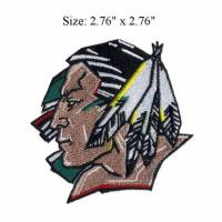 Buy cheap American Sioux high quality Embroidery Badge from wholesalers