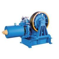 Buy cheap VVVF Drive Geared Elevator Traction Machine , 7000kg Static Capacity YJ245-B from wholesalers