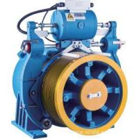 Buy cheap Double Wrap Gearless Elevator Traction Machine With Brake from wholesalers