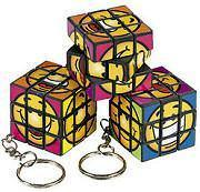 Buy cheap Party Supplies Smiley Cube Puzzle Key Chains from wholesalers