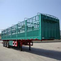 Buy cheap Modular Trailer High-sided Drop Side Cargo Drop Side Semi Trailer - CIMC Vehicles from wholesalers