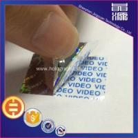 Buy cheap Hologram 3d Tamper Proof Sticker Seals from wholesalers