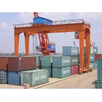 Buy cheap Rail Mounted Gantry Crane, with Stable Running and Alternative Lifting Tools for Multipurpose Jobs from wholesalers