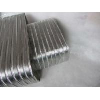 Buy cheap Ventilation Fire Resistant Air Conditioner Semi Rigid Flexible Air Duct from wholesalers