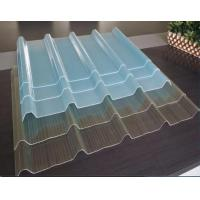 Buy cheap Clear Corrugated Roofing Sheets/ Greenhouse Fiberglass Panels Clear from wholesalers