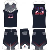 Buy cheap Sublimation Best Customized Basketball Uniforms Design, Camo Basketball Uniforms from wholesalers