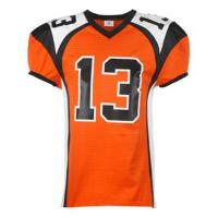 Buy cheap New Design Dye Sublimation American Football Uniform from wholesalers