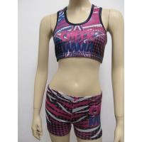 Buy cheap Sublimation Sportswear Long Sleeve Cheerleading Uniforms Design Wear from wholesalers
