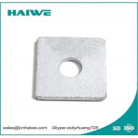 Buy cheap Hot Dip Galvanized Steel Flat Square Washers from wholesalers