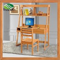 Buy cheap Bamboo Wood Home Office Computer PC Laptop Study Table Desk Workstation from wholesalers