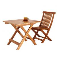 Buy cheap Bamboo Folding Table Set Portable Small Folding Outdoor Table With Bamboo from wholesalers