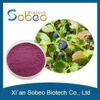 Buy cheap Organic European Bilberry Blueberry Fruit Extract 25% 36% Anthocyanidins for sale product