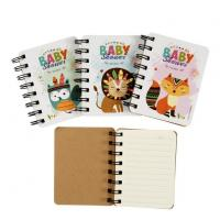 Buy cheap Animals Mini Spiral Notebook Memo Pads For Children from wholesalers