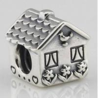 Buy cheap european beads and charms House Silver Charms Bead from wholesalers