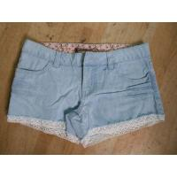 China Pants Women Ripped Short Jeans on sale