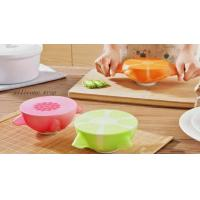 Buy cheap Best Collapsible 3 Compartment Silicone Bento Lunch Box Food Container For Kids And Adults product