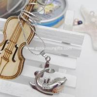 Buy cheap Natural Freshwater Pearl Shark Cage Pendant Necklace from wholesalers