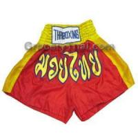 Buy cheap Muay Thai Boxing Shorts (Red/Yellow) from wholesalers