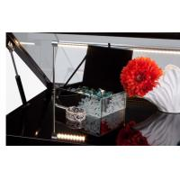 Buy cheap Jewellery Display cabinets Gloss Black Jewelry Display Case with Hydraulic Lift Opening from wholesalers