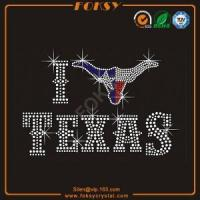 Buy cheap I love Texas wholesale heat transfer designs from wholesalers