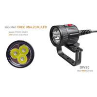 Buy cheap New product 4000 lumen led torch Brinyte diving torch from wholesalers
