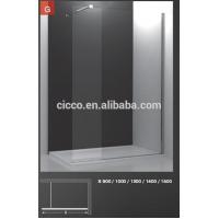 Buy cheap Shower Enclosures Walk In Frrameless Safty Glass Shower Doors from wholesalers