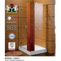 Buy cheap Good Quality Bathroom Tempered Glass Door from wholesalers