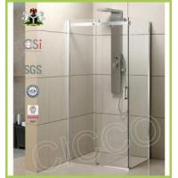 China Cheap Sliding Hanging Rollers Shower Door on sale