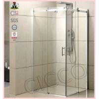 China High Quality Sliding Frrameless Glass Shower Door on sale