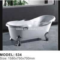 Buy cheap American Style Ancient 4 Feet Simple Acrylic Bathtub product