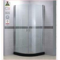 China Shower Enclosures Frrameless Tempered Glass Pivot Shower Door on sale