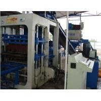 Buy cheap QT12 Cement hollow block molding machine from wholesalers