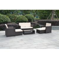Buy cheap K/D set 6 piece wicker patio outdoor living set/HB41.9183 from wholesalers