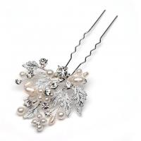 Buy cheap Delicate Pretty Wedding Bridal Crystal Flower Hair Pin from wholesalers