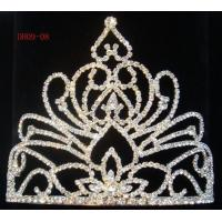 Buy cheap Delicate Rhinestone Wedding Costume Pageant Tiara from wholesalers