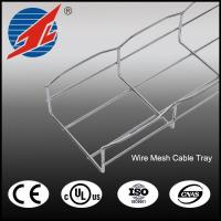Buy cheap Electrical Galvanized Wave Wire Mesh Cable Tray Size from wholesalers