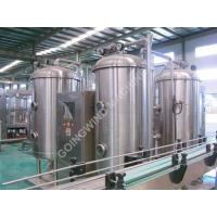 China Carbonated drinks production line on sale